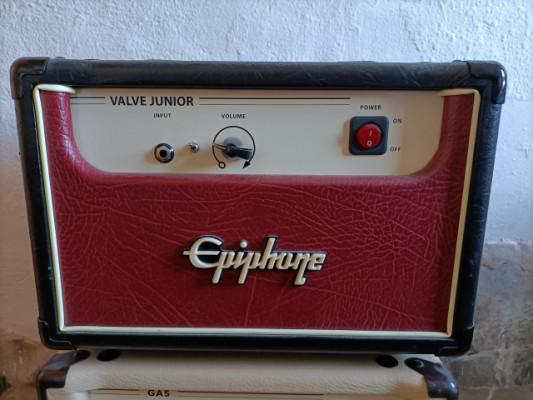 Epiphone Valve Junior head + Plexi mods