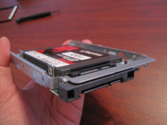 Adaptador disco 2,5 a 3,5 para MacPro
