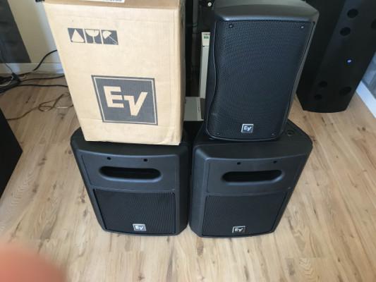 electrovoice EV Zx1-90 y EV SB122  nuevos