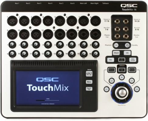QSC Touchmix 16 Actualizada a la ultima versión