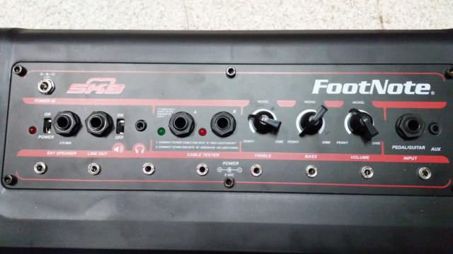 Pedalera amplificada y con alimentador SKB 1skb-FN-8eu