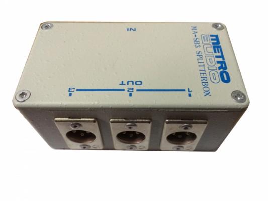 Caja Splitter Metro Audio MA-SB3