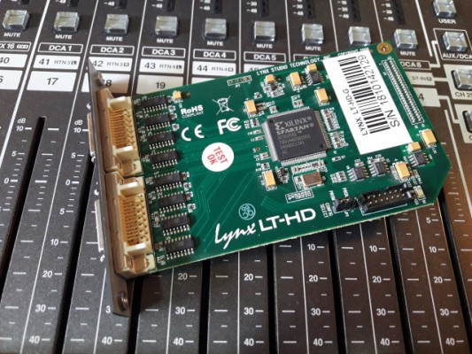 Lynx LT-HD: Expansión para Protools
