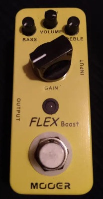 pedal boost mooer flex boost