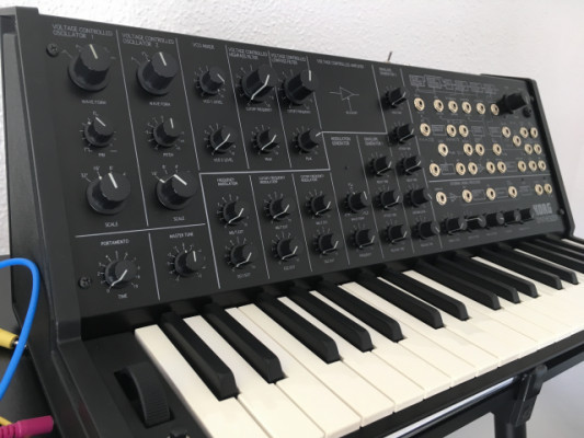 KORG MS 20 mini modificado con PWM y SYNC