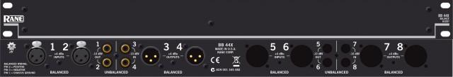 Adap. Señal balanc/desb- desb/balanc.Rane BB44X