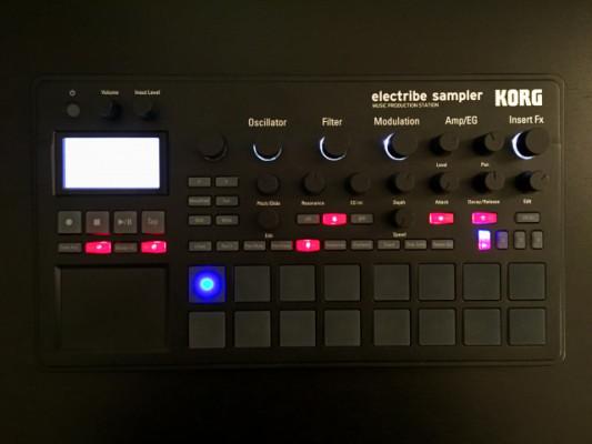 Korg Electribe 2 Sampler - como nuevo!