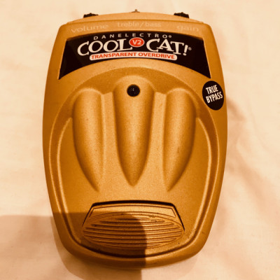 "Cool Cat ""Transparent Overdrive"" V2"