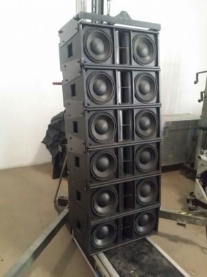 Vendo line array 18.000W