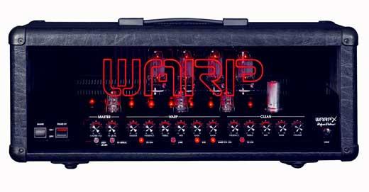 Amplificador guitarra warp x hughes and ketter