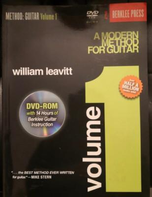A modern method for guitar 1-berklee-W. Leavitt