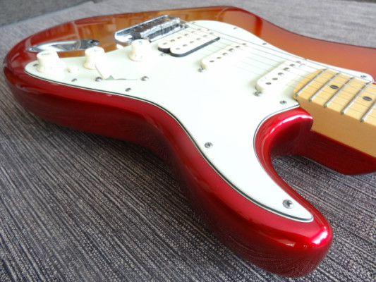 American Stratocaster Deluxe 2012 Sunset Metallic