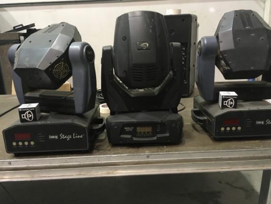 Lote de tres cabezas móviles