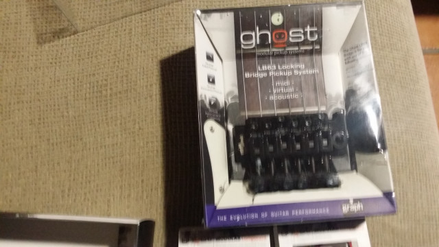 Graphtech floyd rose LB63 & preamp acoustiphonic