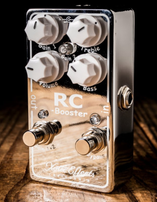 Xotic rc v2 booster/overdrive ( NO CAMBIOS )