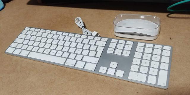 Ratón Magic Mouse y Teclado Apple Keyboard