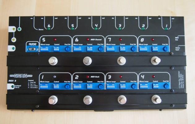 Controladora de pedales TheGigRig Pro 8