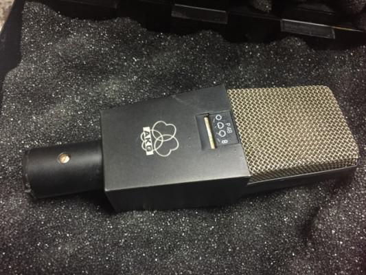 Super-precio! Micrófono AKG c414 EB P48 de los años 80