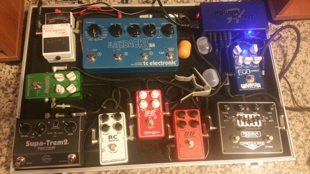 VENDO OVERDRIVE - BOOSTER XOTIC BB PREAMP AT