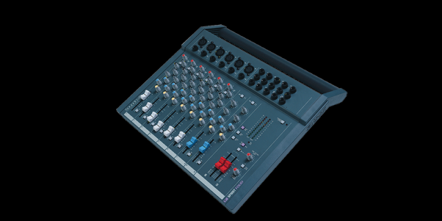 Mesa de mezclas soundcraft 18/2
