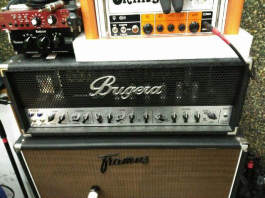 Cabezal Bugera 6262 (Válvulas JJ recién cambiadas)
