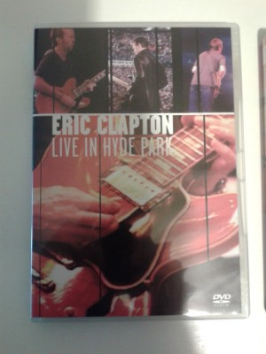 Lote DVD Eric Clapton