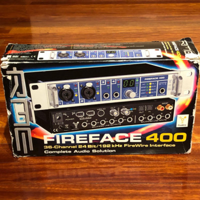 RME Fireface 400 + extras