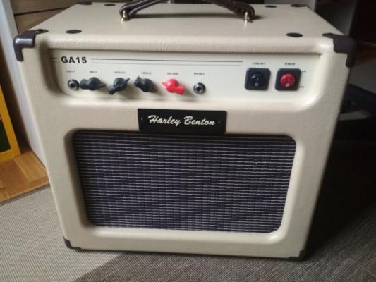 Amplificador Harley Benton GA -15 (MOD)