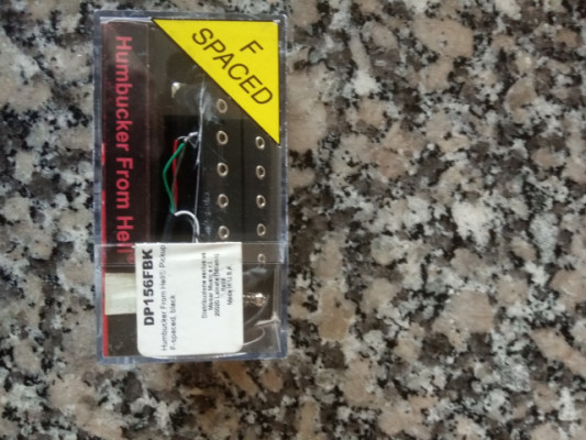 Dimarzio humbucker from hell DP 156 f spaced