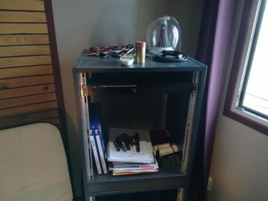 Mueble Rack de estudio