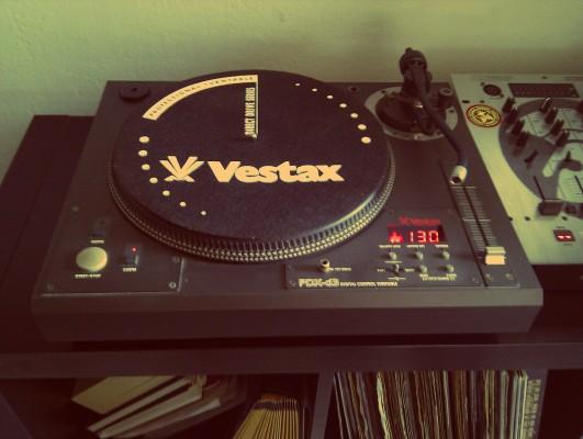 Plato Vestax PDX-D3, ideal para principiantes