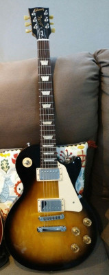 RESERVADA. Gibson Les Paul Studio T , 2016, Vintage Sunburst.