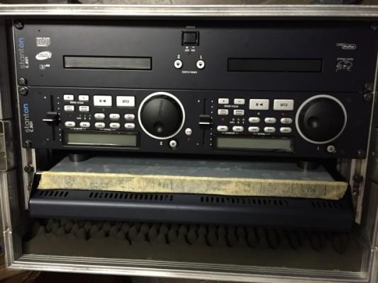 Stanton Doble CD/MP3 y MiniDisc Sony MDS-E10