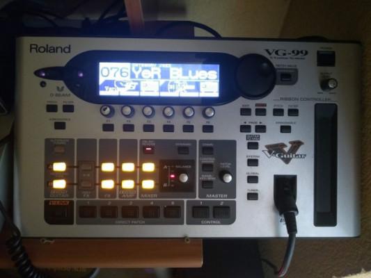 Roland VG 99, GK3, cable 13 pins y Guitarra Ibanez