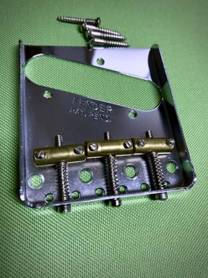 Puente Fender Telecaster 3-Saddle American Vintage