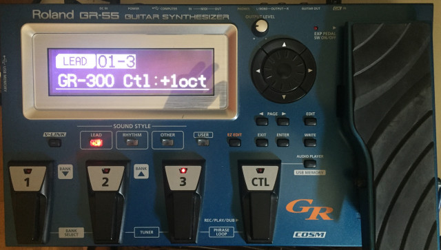 Roland GR 55 (GK 3 incluida)