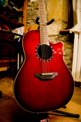 Vendo/Cambio acústica Ovation Standard Ballader 1771 AX 480e!