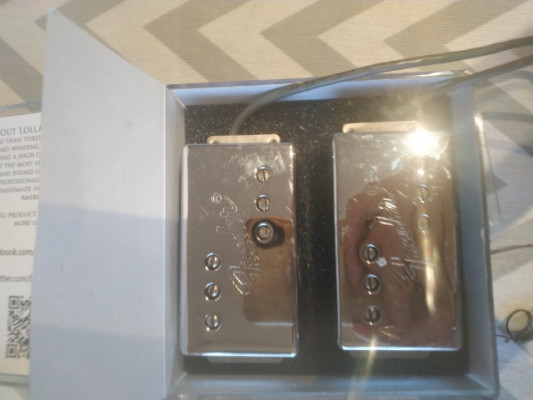 Pastillas Fender wide range humbuckers