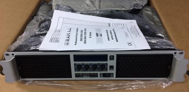 Etapa de potencia Ram Audio 4 canales V12044