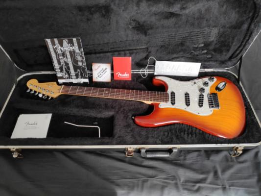 Fender Stratocaster American Deluxe con Lollar Blackface