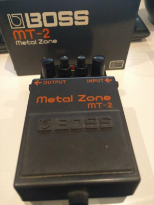 Metal Zone Boss mt-2 Distorsión Guitarra