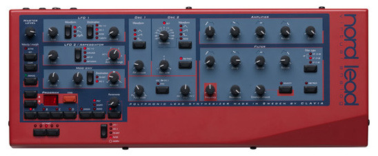 Clavia Nord Rack Lead