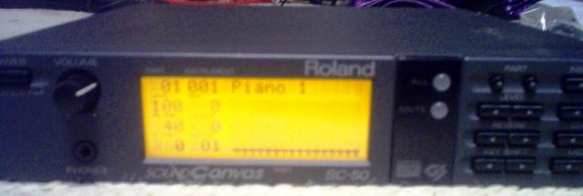 Roland Sound Canvas SC-50