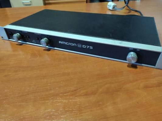 Monitores Event 20/20 + Amcron D75
