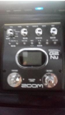 Multiefectos ZOOM G2 Nu