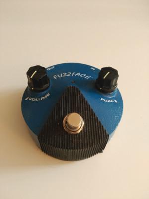 Dunlop Fuzz Face Blue Mini