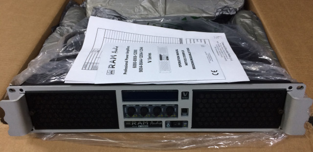 amplificador RAM AUDIO - V12044 +12000W