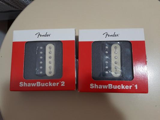 juego de Fender Shawbucker 1 y 2 Pickup Zebra  para stratocaster