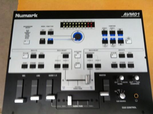 mezclador numark avm01