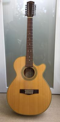 Fender Electroacustica 12 cuerdas JG12CE